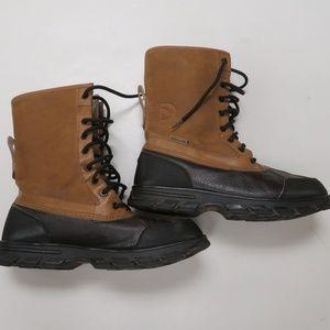 Ecko Unltd Mens Water Resistant Boots Leather Duck